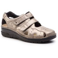 Sandały BERKEMANN - Larena 03100 Bronze/Glitter 429, kolor szary
