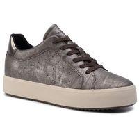 Sneakersy GEOX - D Blomiee H. B D94DZB 0PVBN C6635 Chestnut/ Mud, kolor brązowy