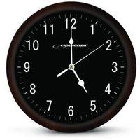 Esperanza  zegar ścienny los angeles czarny darmowa dostawa do 400 salonów !!