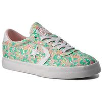 Sneakersy CONVERSE - Breakpoint Ox 555951C Menta/Vapor Pink/White, kolor zielony