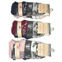 Skarpety WiK Homesneaker Woman art.5088 A'2 39-42, bordowy-różowy. WiK, 35-38, 39-42
