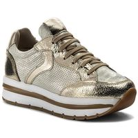 Sneakersy VOILE BLANCHE - Margot Star 0012012388.07.9166 Platino/Auorio, kolor żółty