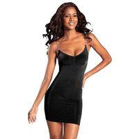 LASCANA Sukienka z gorsetem czarny, w 4 rozmiarach