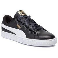Sneakersy PUMA - Basket Heart Reinvent Wn's 369935 02 Puma Black/Puma Black, w 9 rozmiarach