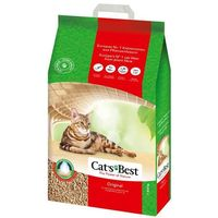 Żwirek eco plus original - 20 l (ok. 9 kg) marki Cats best