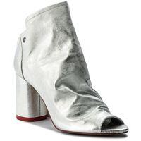 Sandały BADURA - 7791-69 Srebrny 433, kolor szary