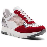 Simen Sneakersy - 1553a czerwony/biały