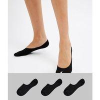 Polo Ralph Lauren 3 Pack Liner Socks - Black, kolor czarny