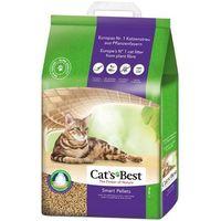 Jrs cat's best nature gold smart pellets - żwirek dla kotów długowłosych drewniany zbrylający 2x20l (20kg)