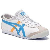 Sneakersy ASICS - ONITSUKA TIGER Mexico 66 1182A078 White/Azul Blue 102, kolor biały