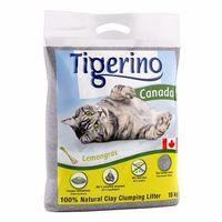 canada żwirek dla kota - zapach trawy cytrynowej - 2 x 12 kg (ok. 24 l) marki Tigerino
