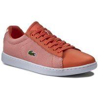 Sneakersy - carnaby evo 117 1 7-33spw1010m2w org/wht marki Lacoste