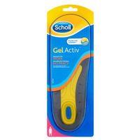 2szt gel activ wkładki do obuwia do pracy damskie rozmiar 35,5- 40,5 marki Scholl