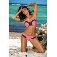 Kostium dwuczęściowy kostium kąpielowy model melinda rossella m-395 pink - , Marko