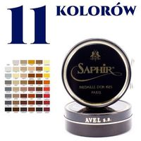 Saphir bdc Saphir 50 ml pasta/wosk do obuwia - saphir medaille d'or, różne kolory do wyboru