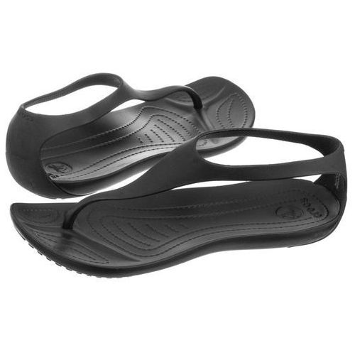 Sandały sexi flip women black 11354-060 (cr25-e) marki Crocs