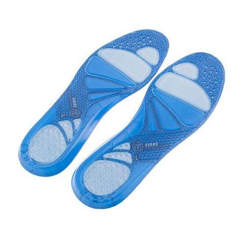 Wkładki żelowe z systemem amortyzacji stopy.