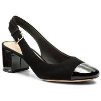 Sandały CLARKS - Orabella Meg 261342314 Black Combination Suede