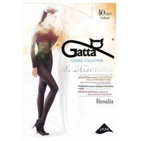 rosalia microfibre 40 den plus grafitowy rajstopy marki Gatta