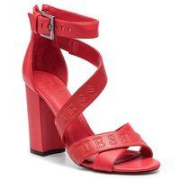 Sandały GUESS - Korra FL6KOR LEA03 RED, w 6 rozmiarach