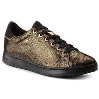 Sneakersy - d jaysen a d621ba 0jsaf c2e9b dk gold/black, Geox, 35-41