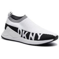 Sneakersy DKNY - Rini-Slip On Sneak K1916808 Knit Wht/Black Whb