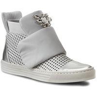 Carinii Sneakersy - b3522m venus 14 srebro/primavera bianco