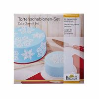 Birkmann Szablony do dekoracji tortów ice crystal 2 szt. odbierz rabat 5% na pierwsze zakupy