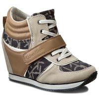 Sneakersy jeans - viridiana re9265 midnight/n, Calvin klein, 40-41