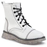 Botki LASOCKI - ARC-TIGER-01 White, kolor biały