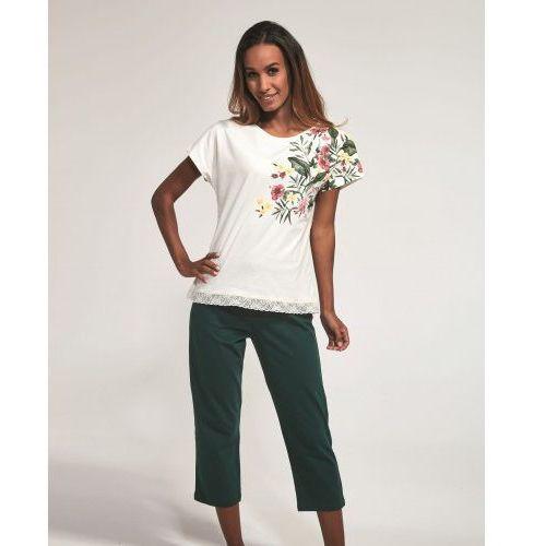 Bawełniana piżama damska 369/168 lillian ecru marki Cornette