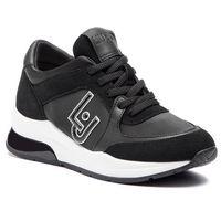 Sneakersy LIU JO - Karlie 12 B19007 TX031 Black 22222, kolor czarny