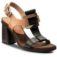 Sandały HISPANITAS - Togo HV86601 Black/Natural, kolor czarny