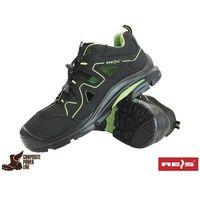 Sandały robocze czarne Reis BCA-BREMA-S1P BZ 47, 1 rozmiar