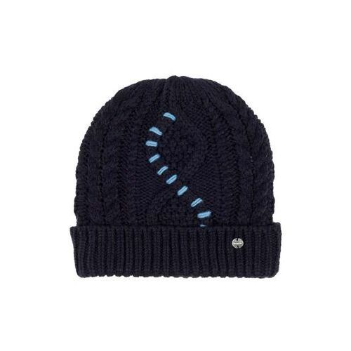 Czapka zimowa - cable knit beanie essentially navy (bl11341) rozmiar: os marki Bench