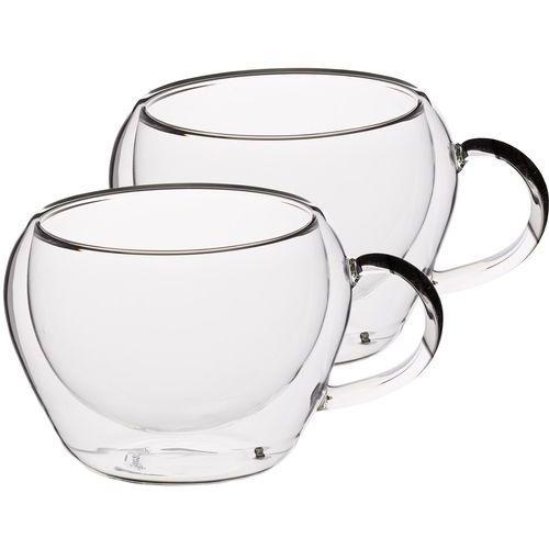 Filiżanki szklane do espresso z uchem 80 ml 2 sztuki (kclxdwesp2pc) marki Kitchen craft
