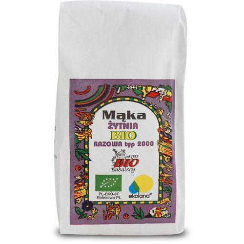 Mąka razowa żytnia Typ 2000 1 kg