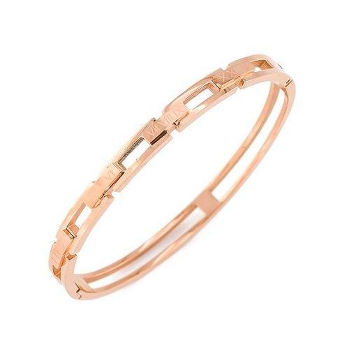 Exclusive bransoletka roczek różowe złoto - różowe złoto marki Exclusive by milla