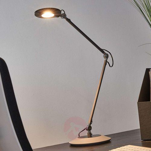 Trio roderic lampa stołowa led antracytowy, 1-punktowy - nowoczesny - obszar wewnętrzny - roderic - czas dostawy: od 2-4 dni roboczych (4017807291513)