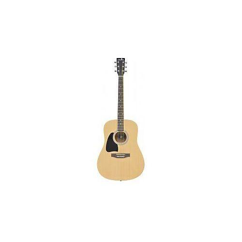 cw26 western guitar - left-hand - natural, gitara akustyczna leworęczna marki Chord