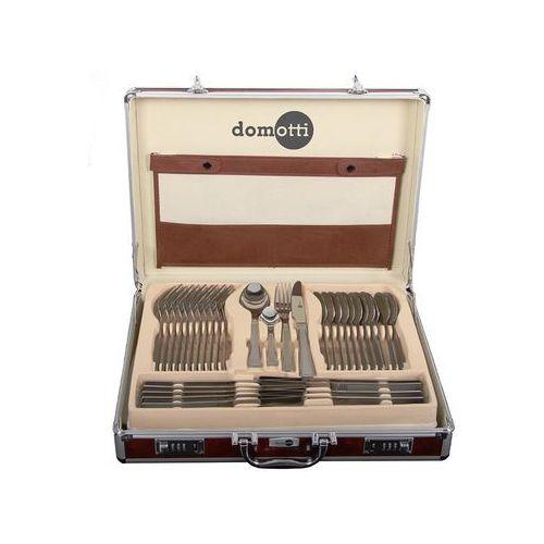 Komplet sztućców 72-elementowy Ewa w aluminiowej walizce (5904134698049)
