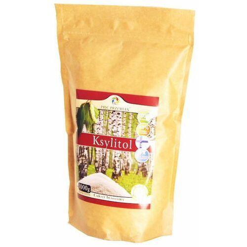 160pięć przemian Ksylitol cukier brzozowy 1kg 1000g fiński - pięć przemian