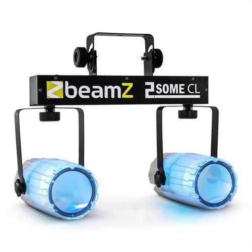 2-some clear zestaw świetlny rgbaw-led mikrofon, marki Beamz