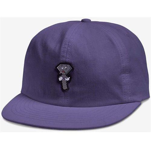 Diamond Czapka z daszkiem - screwed up unstructu clipback purple (pur)