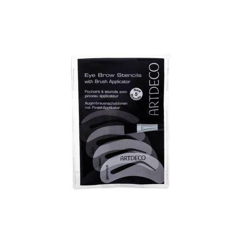 Artdeco Eye Brow Stencils With Brush Applicator regulacja brwi 5 szt dla kobiet (4052136046298)