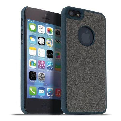 Meliconi Etui Stone iPhone 5/5s niebieski marine szary (8006023204588) Darmowy odbiór w 20 miastach!