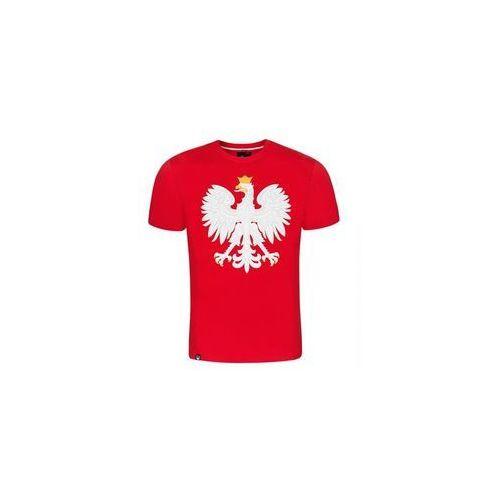 koszulka dziecięca Surge Godło Polski (K.SUR.535), kolor czerwony