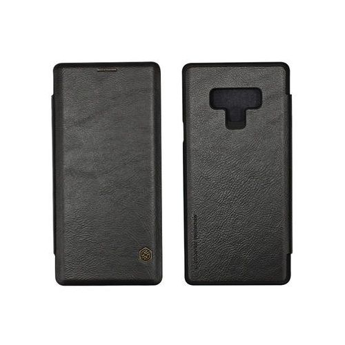 Samsung Galaxy Note 9 - etui na telefon Nillkin Qin - czarny, ETSM758NLQNBLK000