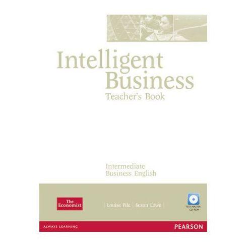 Intelligent Business Intermediate Teacher's Book (książka nauczyciela) + Test Master CD-ROM (2006)