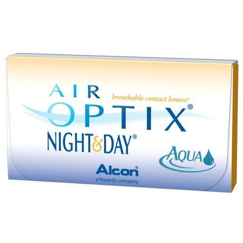 AIR OPTIX NIGHT & DAY AQUA 6szt -6,5 Soczewki miesięcznie | DARMOWA DOSTAWA OD 150 ZŁ! (soczewka kontaktowa)